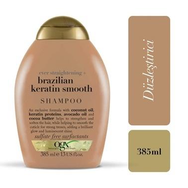 Organix Brezilya Keratin Şampuan 385 Ml Renksiz